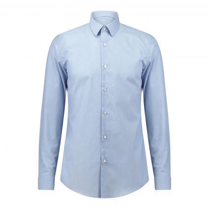 Slim-Fit Hemd 'Isko'  blau (451 Light/Pastel Blu) | 41