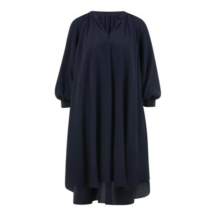 Kleid 'Difloru' mit Ballonärmel blau (466 Open Blue)   44