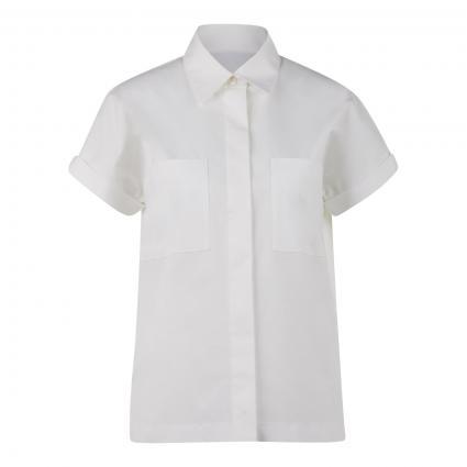 Bluse 'Baranda' mit Brusttaschen weiss (100 White) | 38