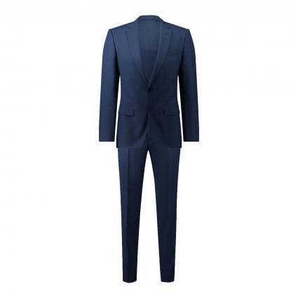 Slim-Fit Anzug blau (497 Open Blue)   48