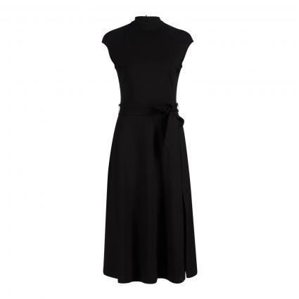 Kleid 'Dressella' mit Bindegürtel  schwarz (001 Black) | M