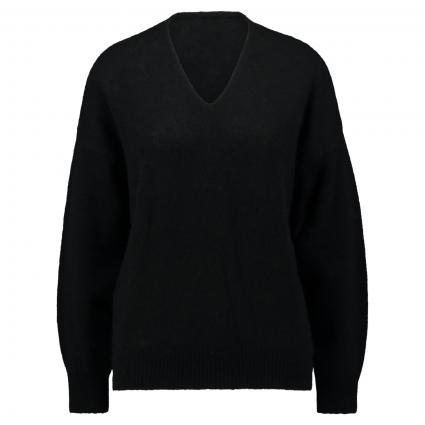 Pullover 'Fillallon' aus softer Wollmischung schwarz (001 Black) | L