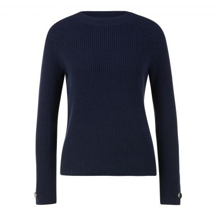 Pullover 'Shinead' aus Strick blau (464 Open Blue) | S