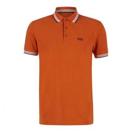Poloshirt 'Paddy' mit Kontraststreifen  orange (825 Bright Orange)   XXL