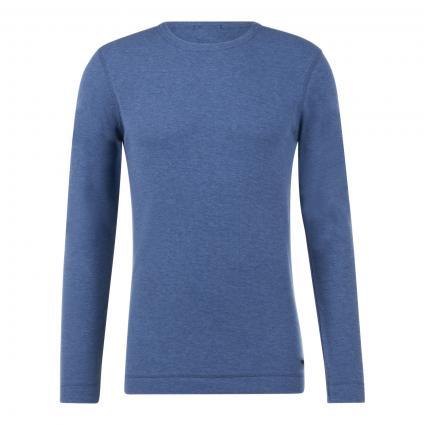 Pullover 'Tempest' mit Rundhalsausschnitt blau (489 Open Blue) | XL