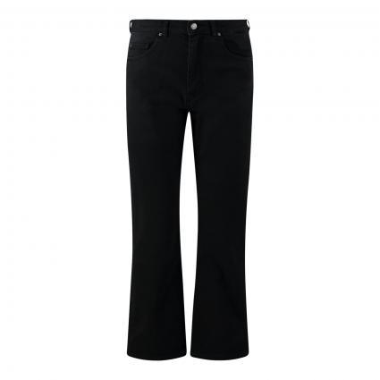 Cropped Jeans 'Kickflare' grau (020 Grey) | 27