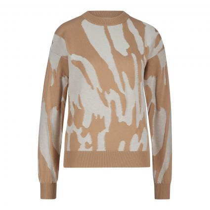 Pullover 'Fata' mit All-Over Muster divers (967 Open Miscellaneo) | XS