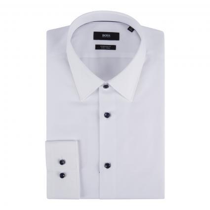 Regular-Fit Hemd 'Ganos'  weiss (100 White) | 43