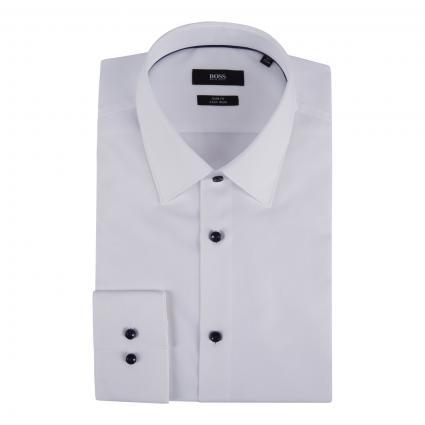 Slim-Fit Hemd 'Jano' weiss (100 White) | 39