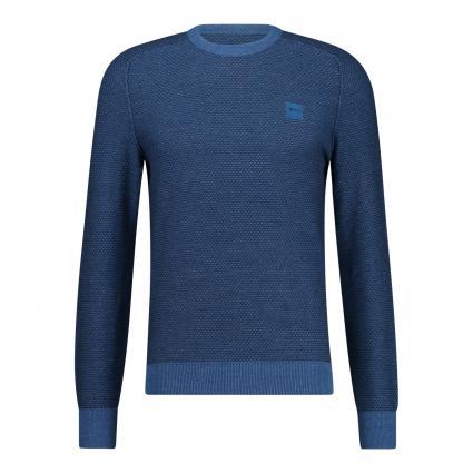 Pullover 'Kadiff'  blau (428 Medium Blue)   M