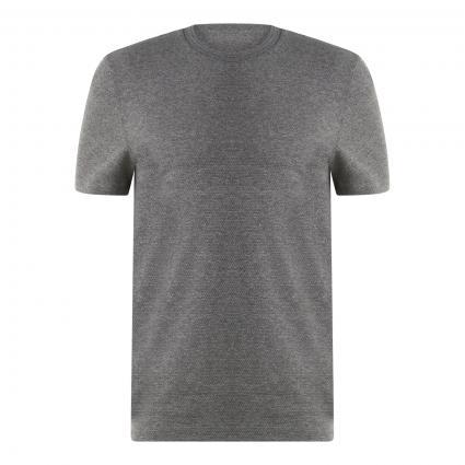 T-Shirt 'Tiburt' mit Strukturmuster silber (041 Silver) | M