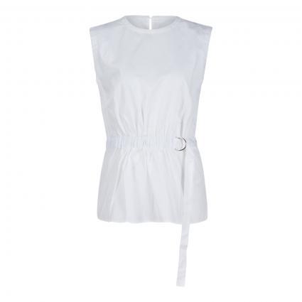 Bluse 'Intisa' mit Gürtel-Detail weiss (20100 White) | 38