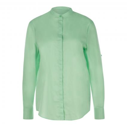 Bluse 'Befelize' mit Krempelarm grün (363 Open Green)   34