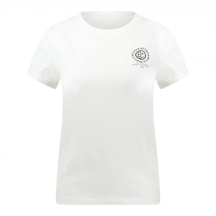 T-Shirt 'The Earth' mit platziertem Druck ecru (102 Natural) | M