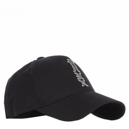 Basecap mit Logo-Print  schwarz (001 Black) | 0