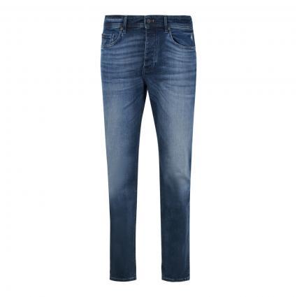 Tapered-Fit Jeans 'Taber' marine (406 Dark Blue) | 33 | 34