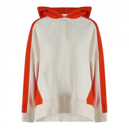 Sweatshirt 'Eblocky' mit Kapuze weiss (118 Open White)   L