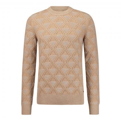 Pullover 'Karlbert' beige (262 Medium Beige) | XL
