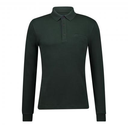 Poloshirt mit Langarm grün (6002 FOREST) | XL