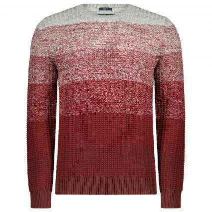 Strick Pullover im Ombré Look bordeaux (5200 OXBLOOD) | XL