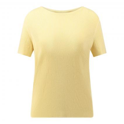 Pullover mit Rippstruktur gelb (2096 sunlight) | 38