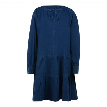 Oversize-Kleid in Denim-Optik blau (5500 darkblue denim) | 38