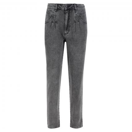 Slim-Fit Jeans mit Waschung anthrazit (9700 darkgrey denim) | 40