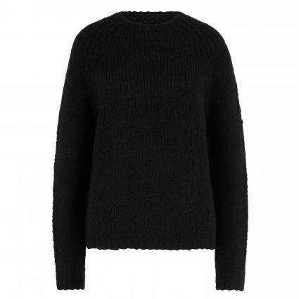 Pullover mit Stehkragen schwarz (9990 black) | 38