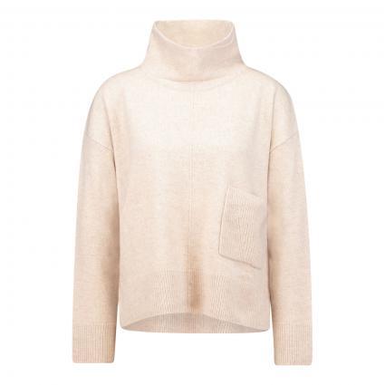 Pullover mit Stehkragen beige (7004 moonbeam)   42