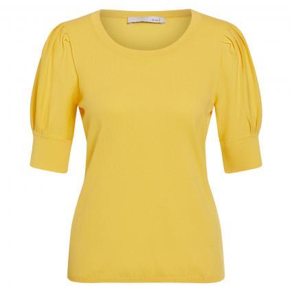 Pullover mit Puffärmel gelb (2252 primrose yellow)   36