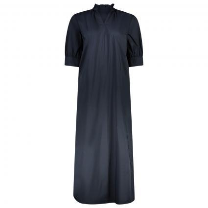 langes Kleid mit V-Ausschnitt marine (5728 nightsky) | 38