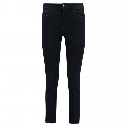 Slim-Fit Jeans 'Piper' im 5-Pocket Style  schwarz/blau-schwarz (5412 cosy black over) | 46 | 27