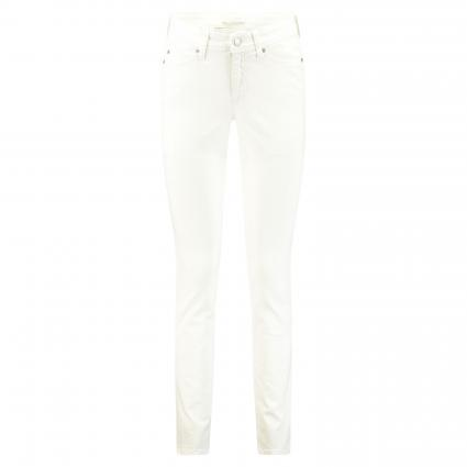 Slim-Fit Jeans 'Parla' weiss (5002 softwash) | 40 | 32