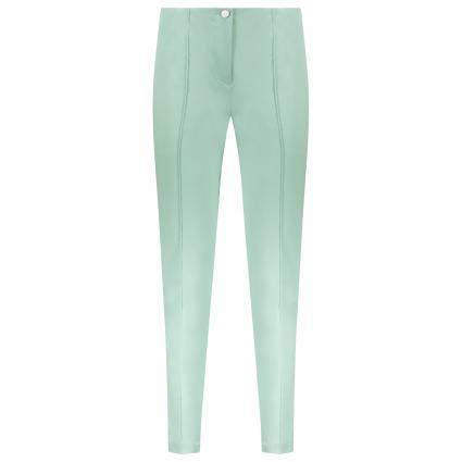 Slim-Fit Hose 'Ros' mit Biesendetails grün (658 mint green) | 46 | 29