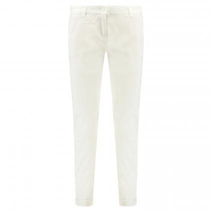 Schmale Hose 'Stella' weiss (001 pure white)   36   28