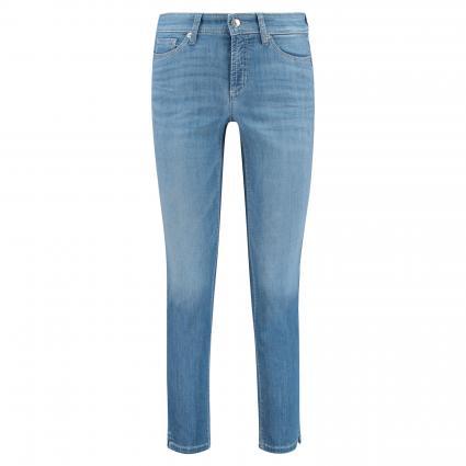 Slim-Fit Jeans 'Piper short' blau (5222 medium 3d used) | 40 | 27