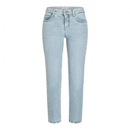 Straight-Leg Jeans 'Paris' in Cropped-Länge blau (5344 salty superblea) | 34 | 27
