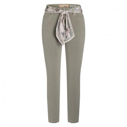 Cropped Jeans 'Paris' oliv (601 eco light leaf) | 36 | 28