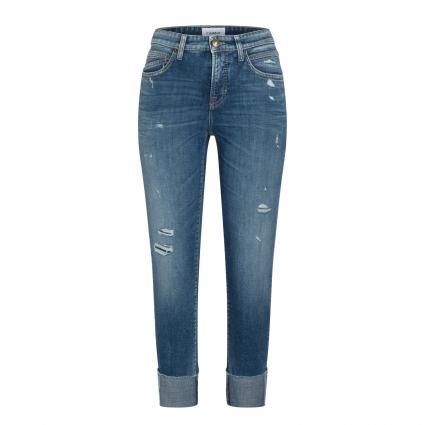 Fashion-Fit Jeans 'Kerry' blau (5079 dark destroyed) | 40 | 30