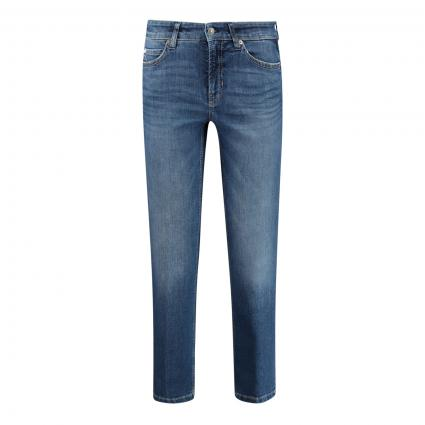 Straight-Fit Jeans 'Pairs' mit Logo-Patch  blau (5153 sophisticated m) | 40 | 27