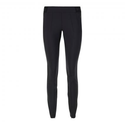 Sportive Slim-Fit Hose 'Rave' schwarz (099 black)   36   29