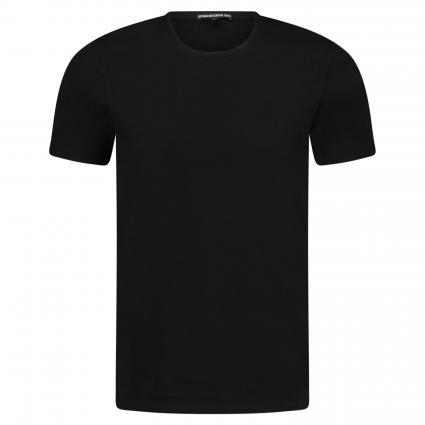 T-Shirt 'Carlo' mit Rundhalsausschnitt schwarz (1000 schwarz) | XL