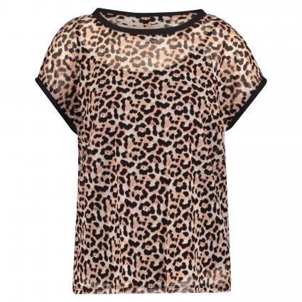 T-Shirt avec Leo-Print beige (80A9 80A9 AOP Leo) | 36