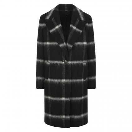 Mantel mit Karomuster schwarz (99N5 grey/black chec) | 34