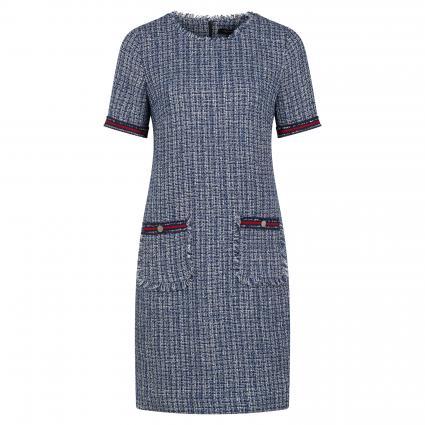 Kleid in Bouclé-Optik marine (59B8 59B8 New Konfi) | 36