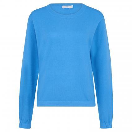 Pullover mit Rundhalsausschnitt blau (557 bright sky)   XS