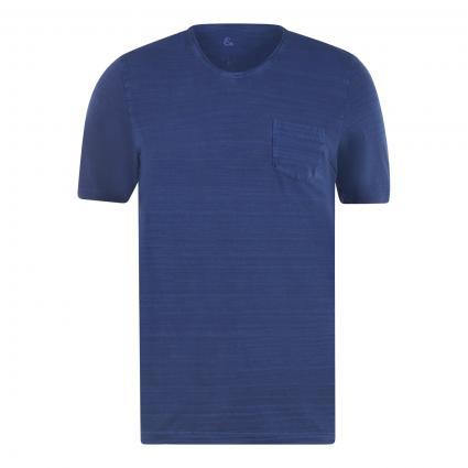 T-Shirt mit Brusttasche marine (699 MIDNIGHT)   XXL