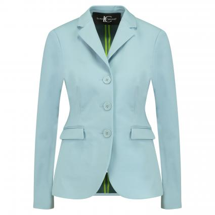 Taillierter Blazer blau (229 light smoky blue) | 38
