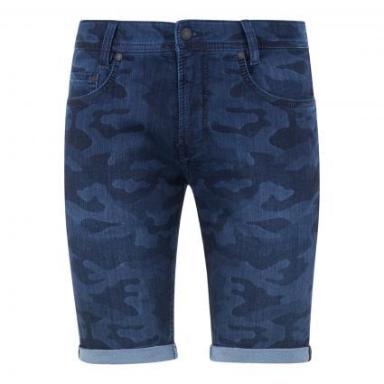 Jeansshorts 'Jogn Bermuda' blau (H977 laser camouflag) | 34 | 10
