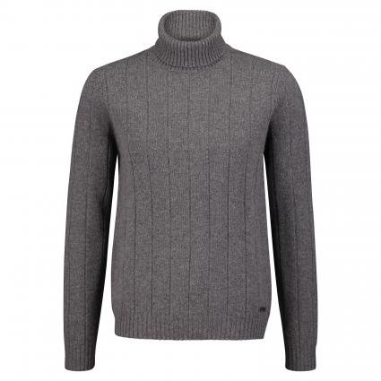 Pullover mit Rollkragen anthrazit (596 Dark Grey) | 50